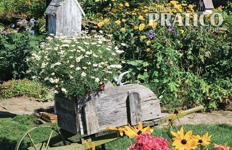 Jardin fleuri au look champ tre inspirations jardinage for Deco jardin fleuri