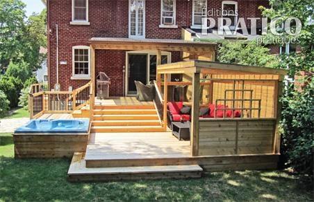 Voisins de palier sur le patio patio inspirations for Plan patio exterieur