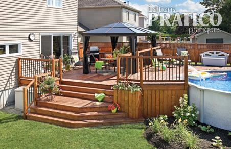 Le patio trait d 39 union patio inspirations jardinage for Plan de patio exterieur en bois