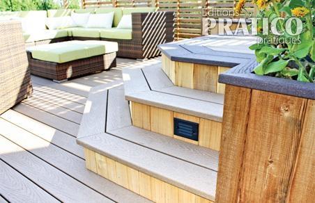 variations sur deux tons pour le patio patio. Black Bedroom Furniture Sets. Home Design Ideas