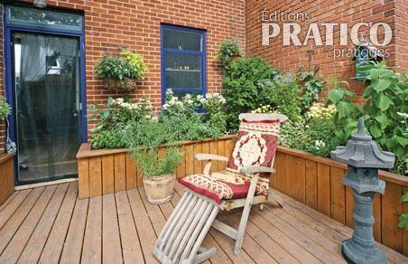 Une terrasse en ville pour relaxer et jardiner patio - Une terrasse en ville ...