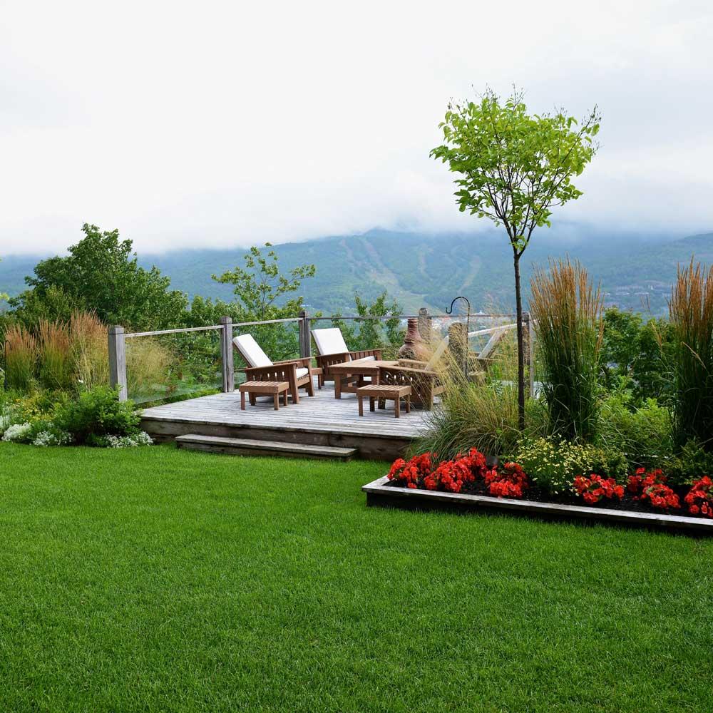 Jardin multi g n rationnel en montagne plate bande for Jardin et jardinage