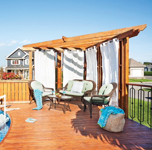 Nos meilleures solutions pour se cacher des voisins for Amenagement patio