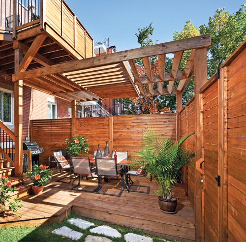 Nos meilleures solutions pour se cacher des voisins for Mur en bambou exterieur