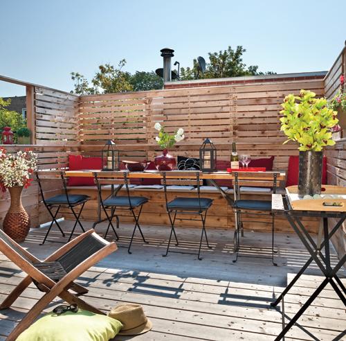 Frost id es cl ture - Paravent pour terrasse jardin ...