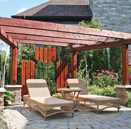 Pergolas pavillons gaz bos la belle vie au grand air - Avec quoi couvrir une pergola ...