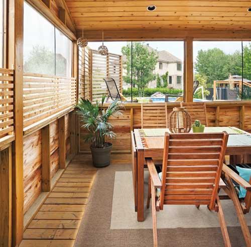 Top 10 des tendances pour l 39 ext rieur cour for Modele de patio exterieur en bois