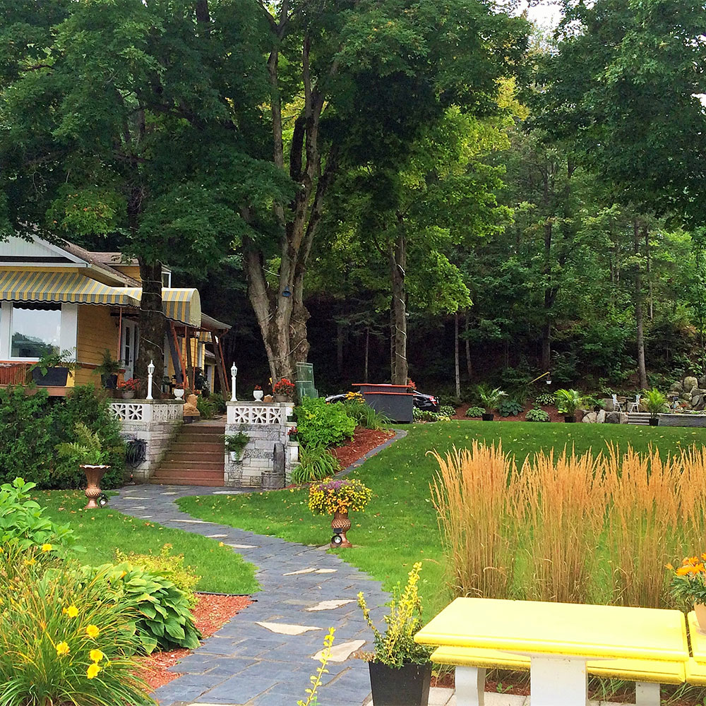 Vari t dans la cour jardin inspirations jardinage for Jardin et jardinage
