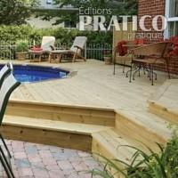 Plan pour faire une fondation de b ton pour fixer un for Construire deck piscine