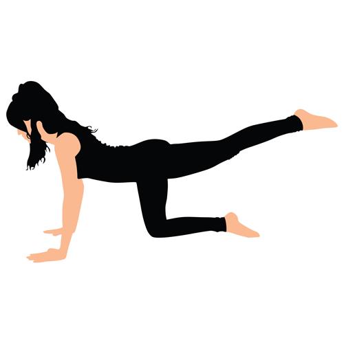 Les meilleurs exercices pour des fesses d'acier - Adulte