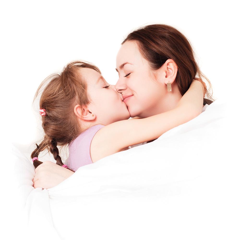 Quand doit on arr ter les bisous sur la bouche avec son enfant enfant psycho sant et - La femme a la bouche fendue ...