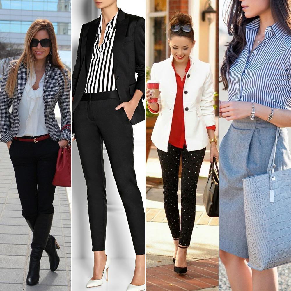 20 looks pour aller au bureau trouv s sur pinterest - Look bureau femme ...