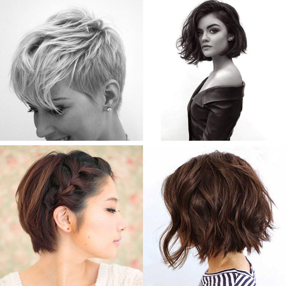 Les plus belles coupes de cheveux courts trouv es sur - Pinterest coiffure femme ...