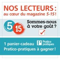 Nos lecteurs: au coeur du magazine 5-15!