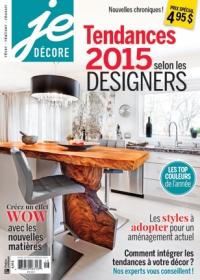 Tendances 2015 selon les designers