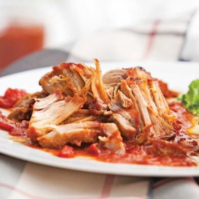 Porc Brais Sauce Barbecue Recettes Cuisine Et Nutrition Pratico Pratique