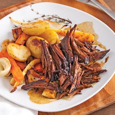 Boeuf brais au sirop d 39 rable et vinaigre balsamique recettes cuisine et nutrition - Vinaigre balsamique calorie ...