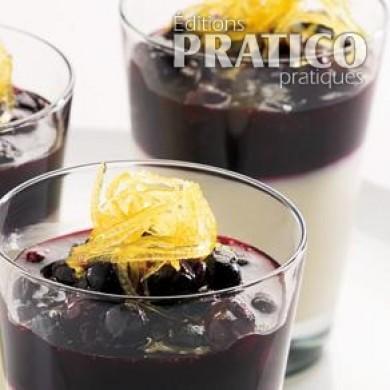 Panna cotta aux bleuets recettes cuisine et nutrition - Panna cotta herve cuisine ...