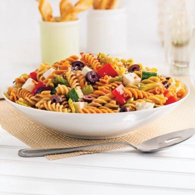 Salade de p tes l 39 italienne recettes cuisine et for Cuisine a l italienne