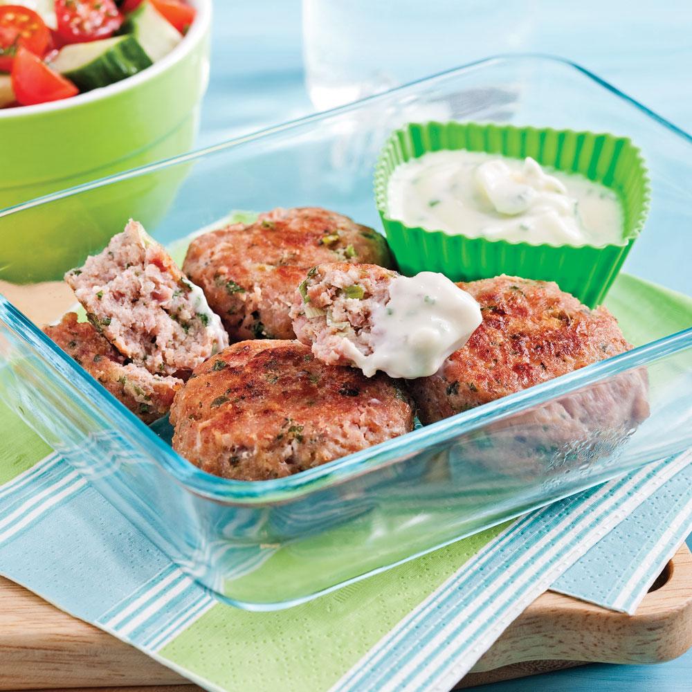 Croquettes vite faites au jambon et poulet recettes for Cuisine 5 15