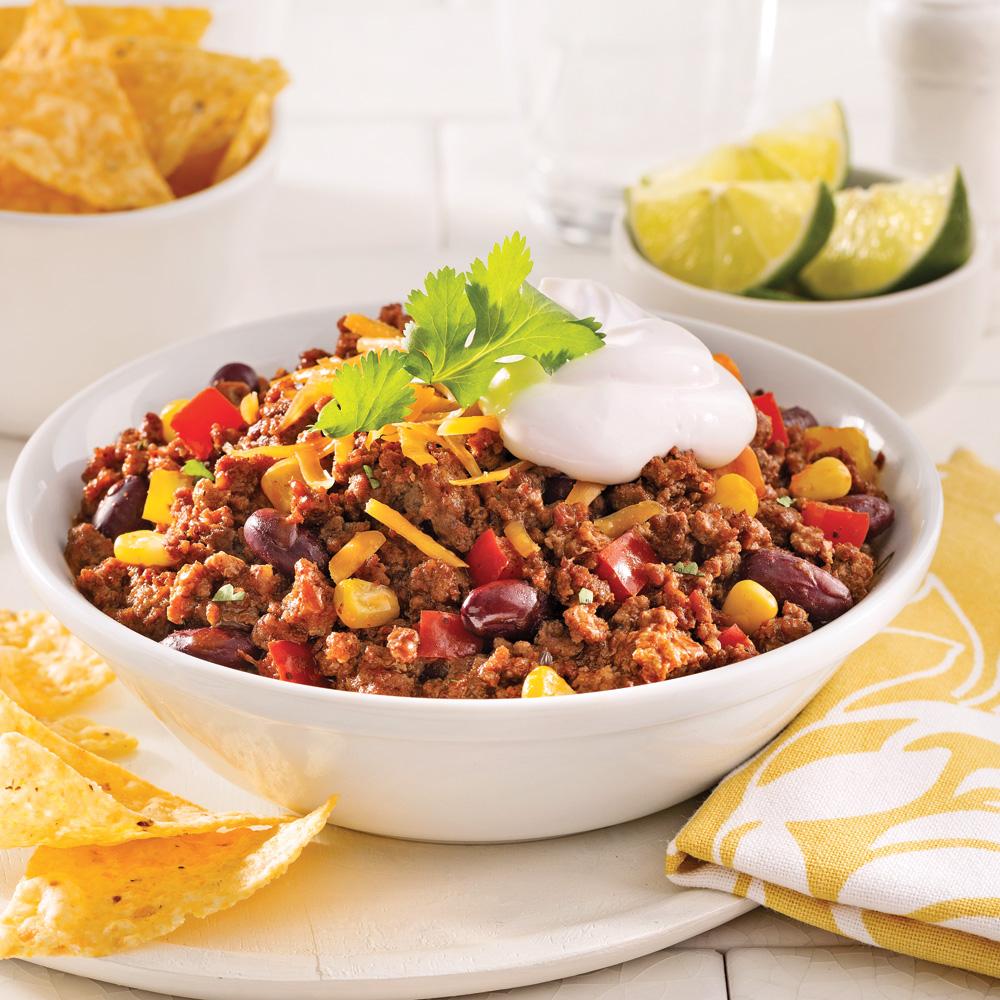Chili au boeuf et veau recettes cuisine et nutrition - Cuisine a la mijoteuse ...