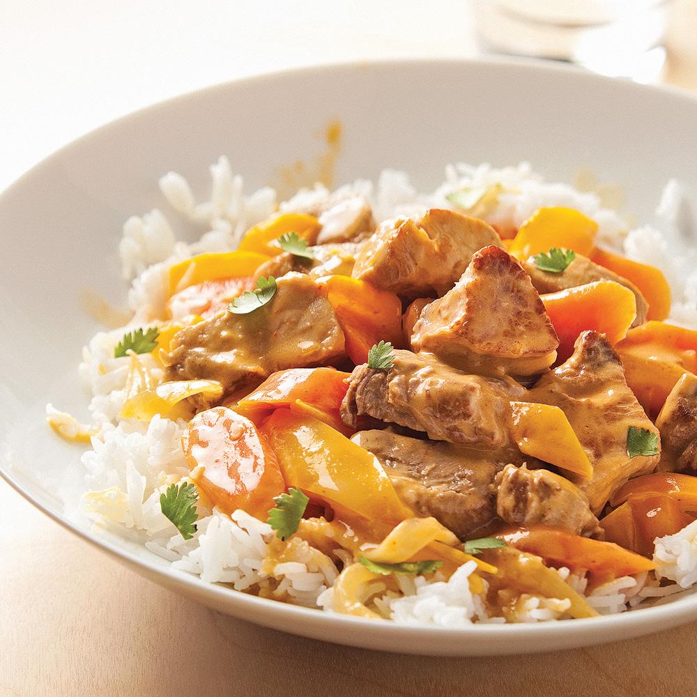 Mijot de porc la tha recettes cuisine et nutrition - Cuisiner rognons de porc ...
