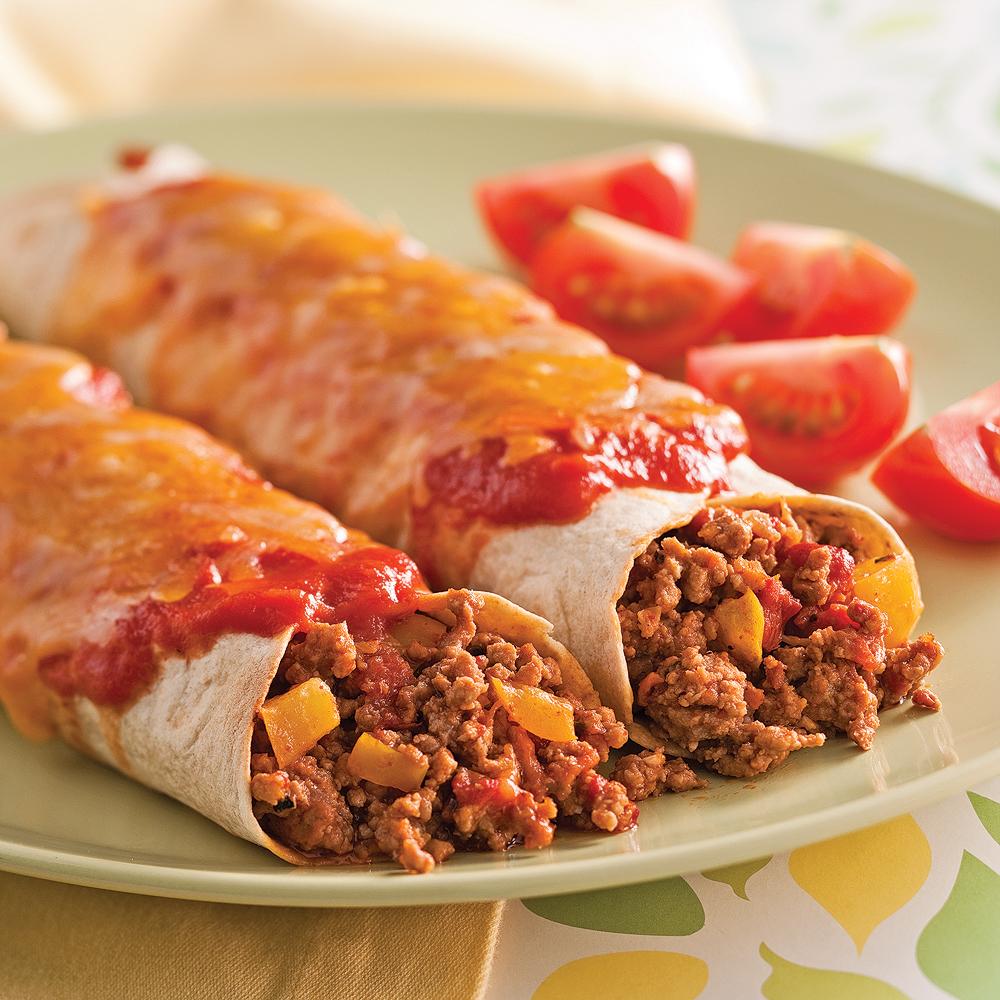 Enchiladas au veau recettes cuisine et nutrition for Cuisine pratique