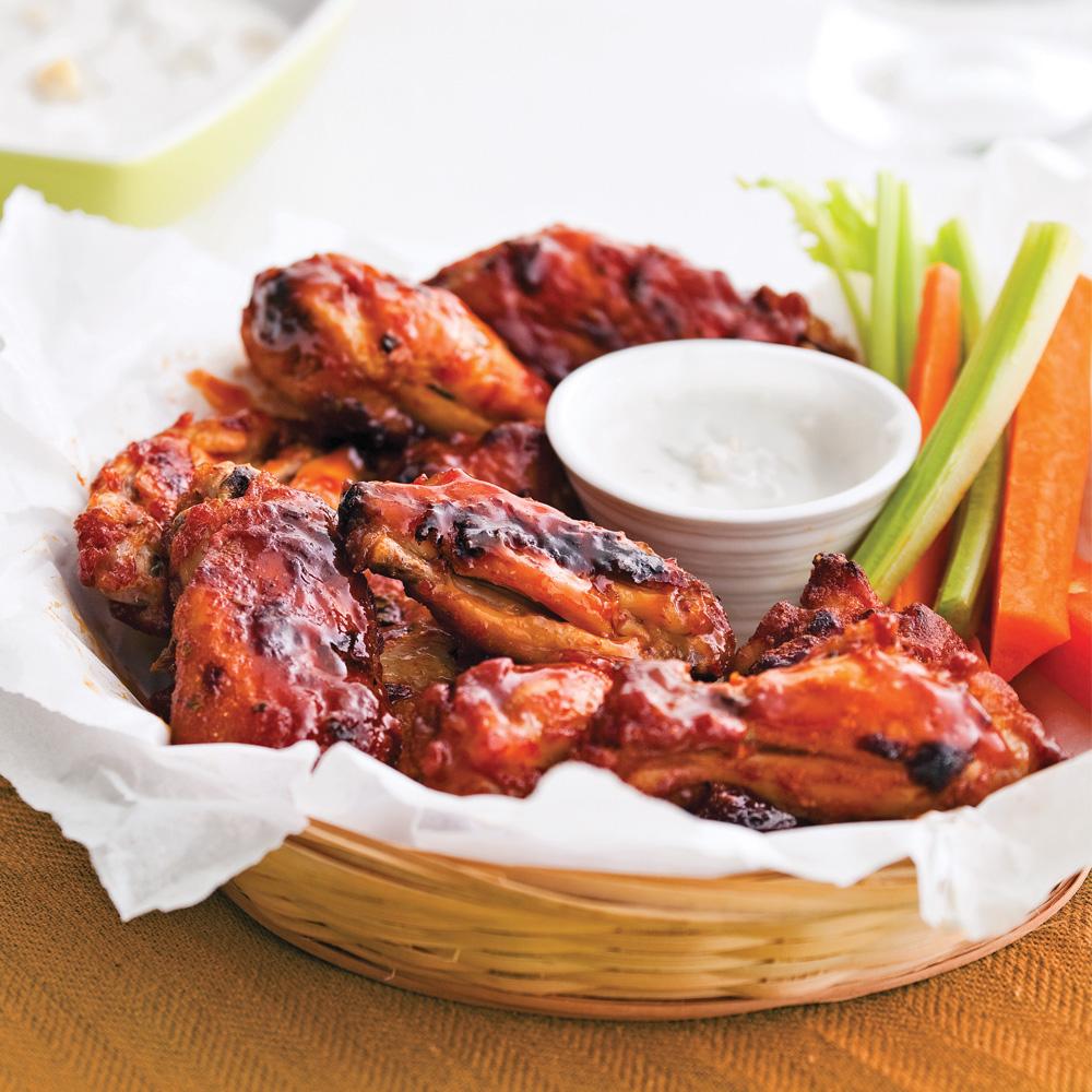 Ailes et pilons de poulet sauce barbecue l 39 rable recettes cuisine et nutrition pratico - Marinade poulet curry barbecue ...