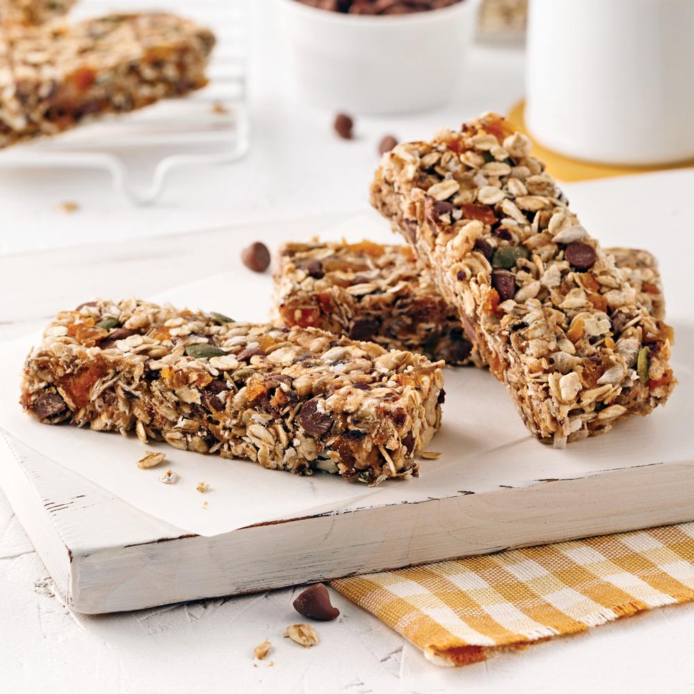 Barres granola sans cuisson recettes cuisine et - Cuisson des pleurotes recette de cuisine ...