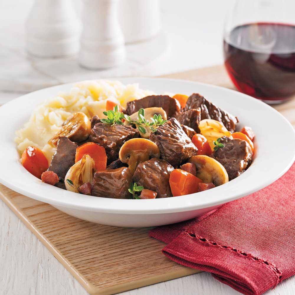 B uf bourguignon recettes cuisine et nutrition for Cuisine pratique