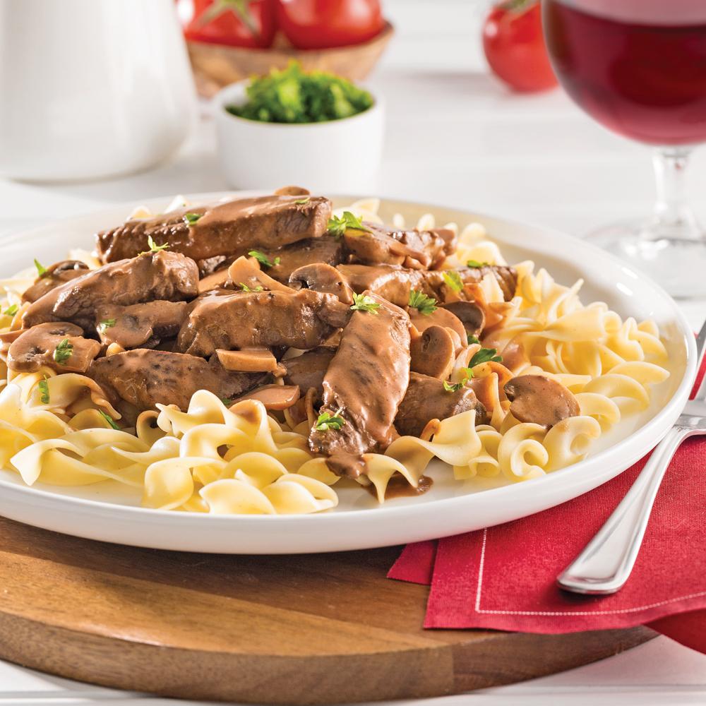 Boeuf stroganoff la mijoteuse recettes cuisine et - Cuisine a la mijoteuse ...