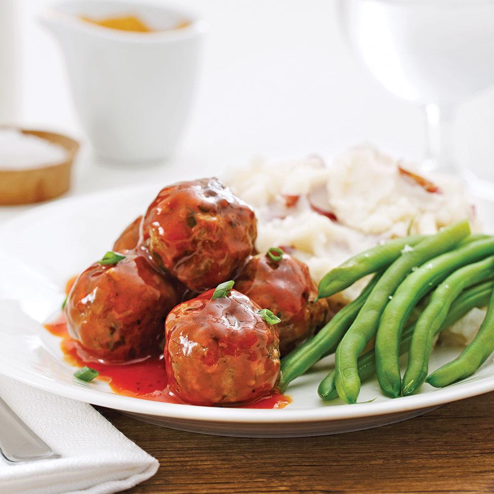 Boulettes de viande sauce barbecue recettes cuisine et for Viande cuisinee