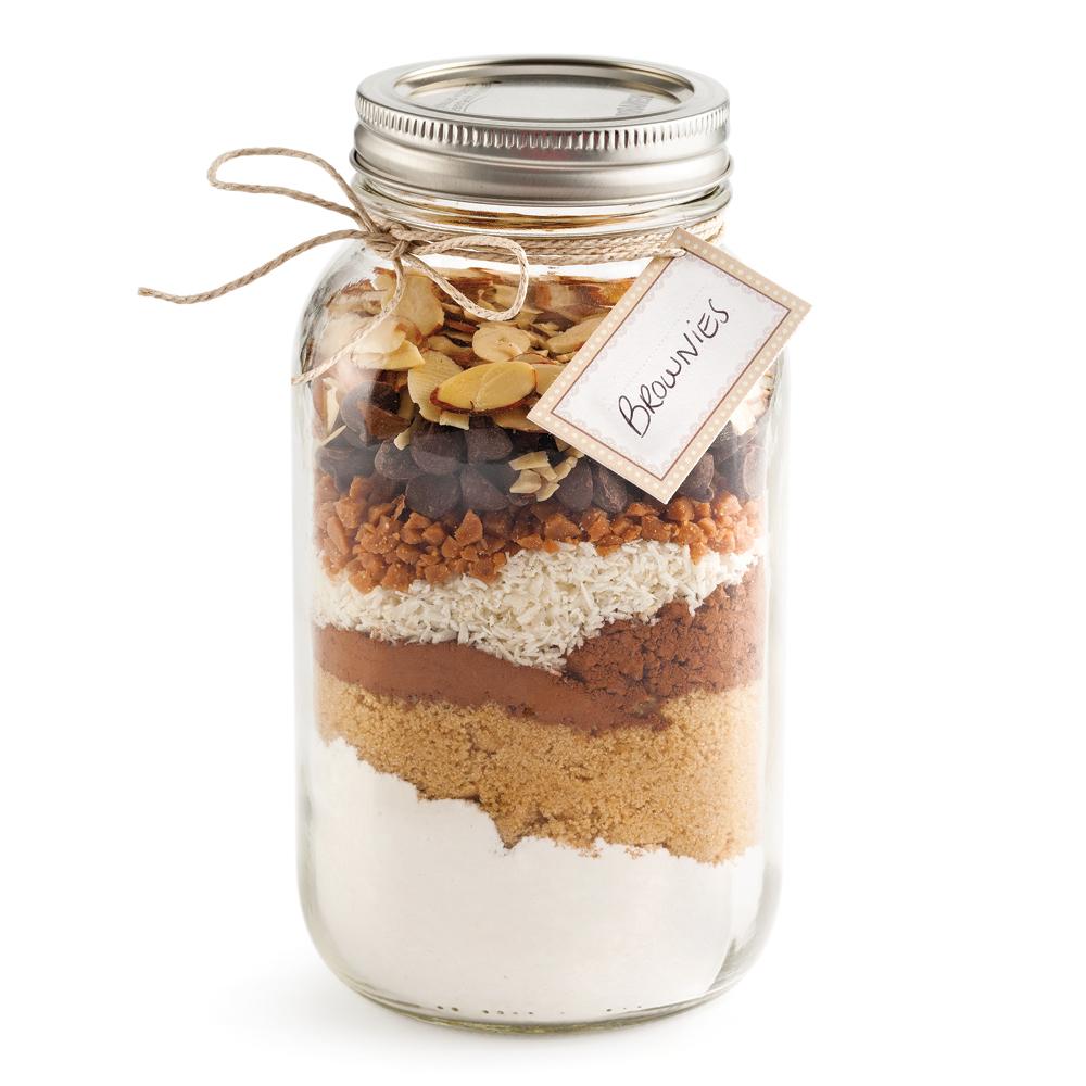 Brownies en pot Mason - Recettes - Cuisine et nutrition - Pratico ...