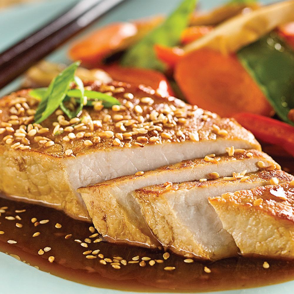 C telettes de porc la tha landaise recettes cuisine - Cuisiner rognons de porc ...