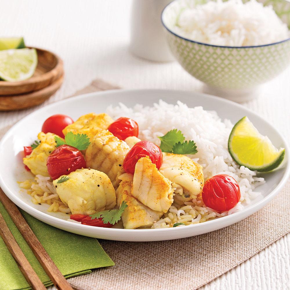Cari de poisson recettes cuisine et nutrition - Cuisine a la mijoteuse ...