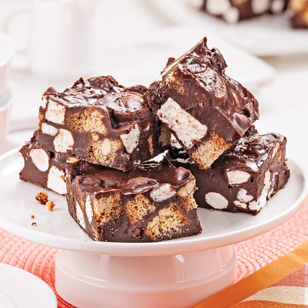 carr 233 s sans cuisson au chocolat et guimauves desserts recettes 5 15 recettes express 5 15