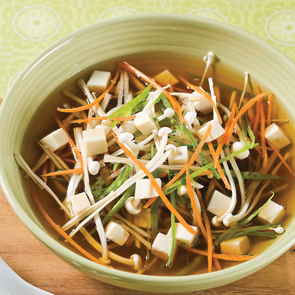 Soupe au miso et tofu recettes cuisine et nutrition - Soupe miso ingredient ...