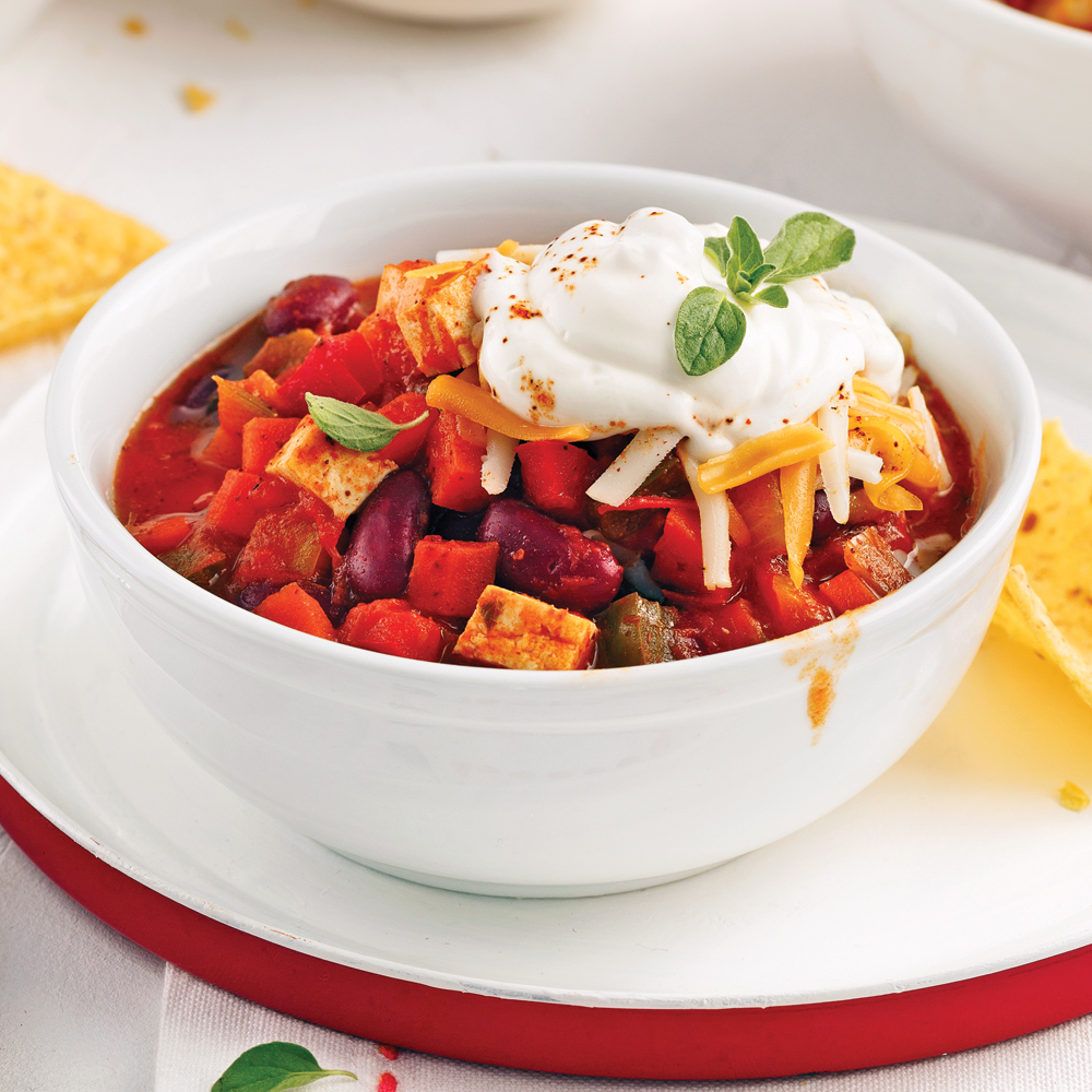 Chili v g la mijoteuse recettes cuisine et - Cuisine a la mijoteuse ...