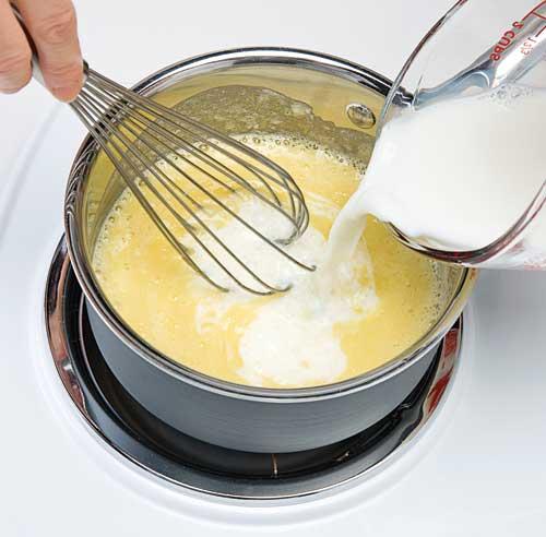 Comment faire une sauce b chamel en tapes cuisine et - Comment faire la sauce bechamel ...