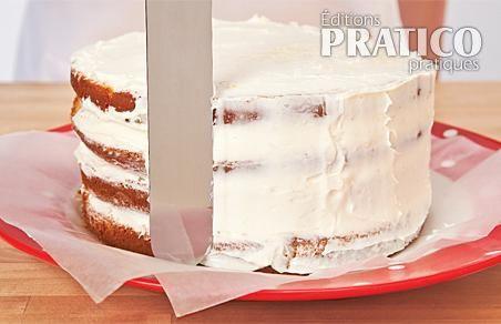 Comment glacer un gâteau étagé - En étapes - Cuisine et nutrition ...