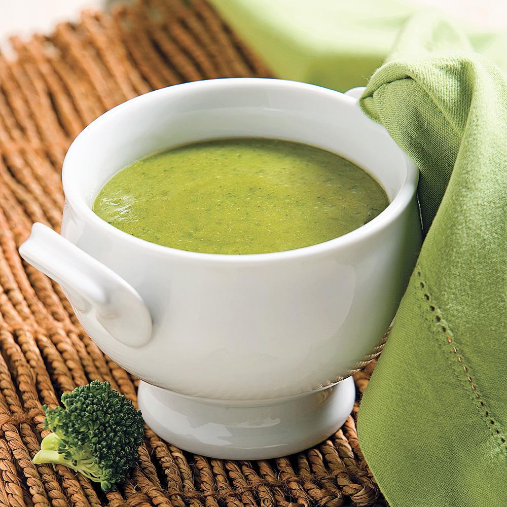 Cr me de brocoli entr es et soupes recettes 5 15 - Cuisiner des brocolis ...