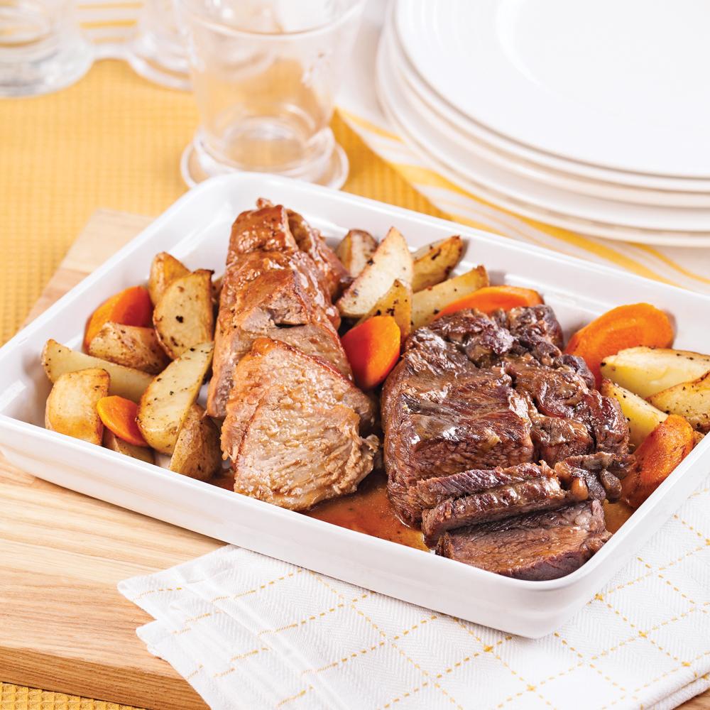 R tis de porc et de boeuf recettes cuisine et - Cuisiner la palette de porc ...