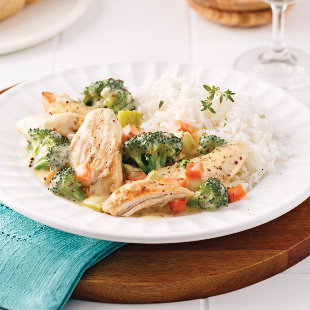 Casserole de poulet et brocoli recettes cuisine et for Cuisine pratique