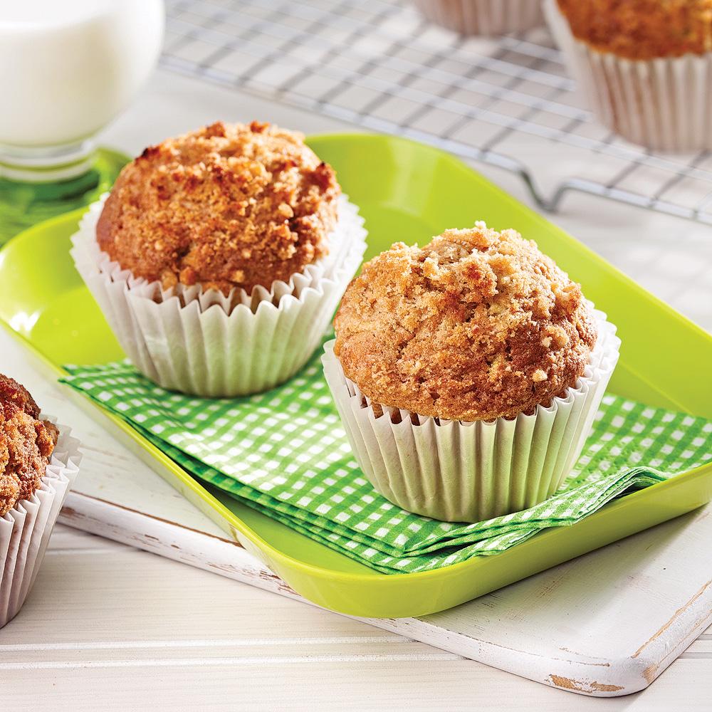 muffins aux pommes recettes cuisine et nutrition. Black Bedroom Furniture Sets. Home Design Ideas