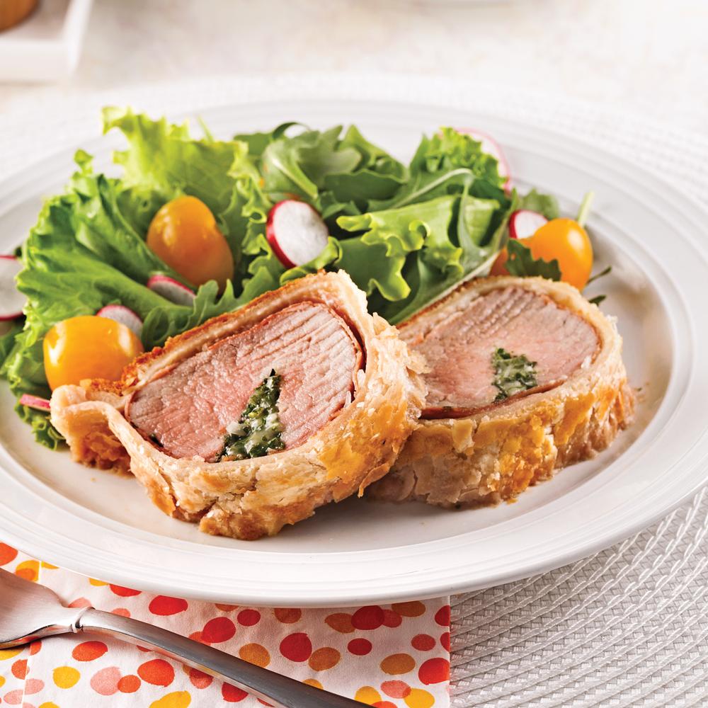 filet de porc en cro 251 te de p 226 te feuillet 233 e recettes cuisine et nutrition pratico pratique