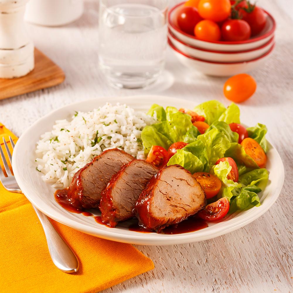 Filet de porc sucr la mijoteuse recettes cuisine et - Cuisine a la mijoteuse ...