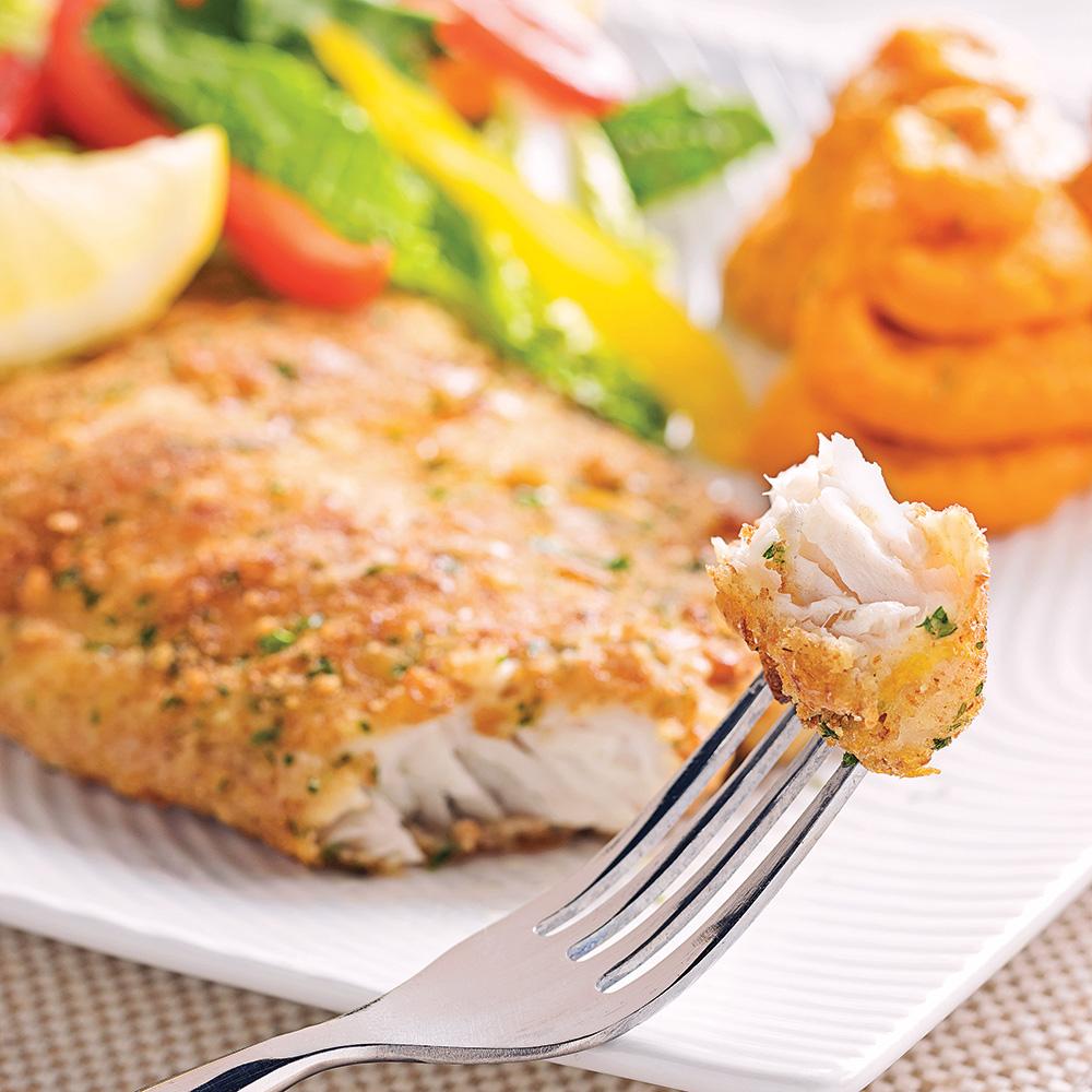 Filets de poisson en cro te citronn e recettes cuisine for Poisson cuisine