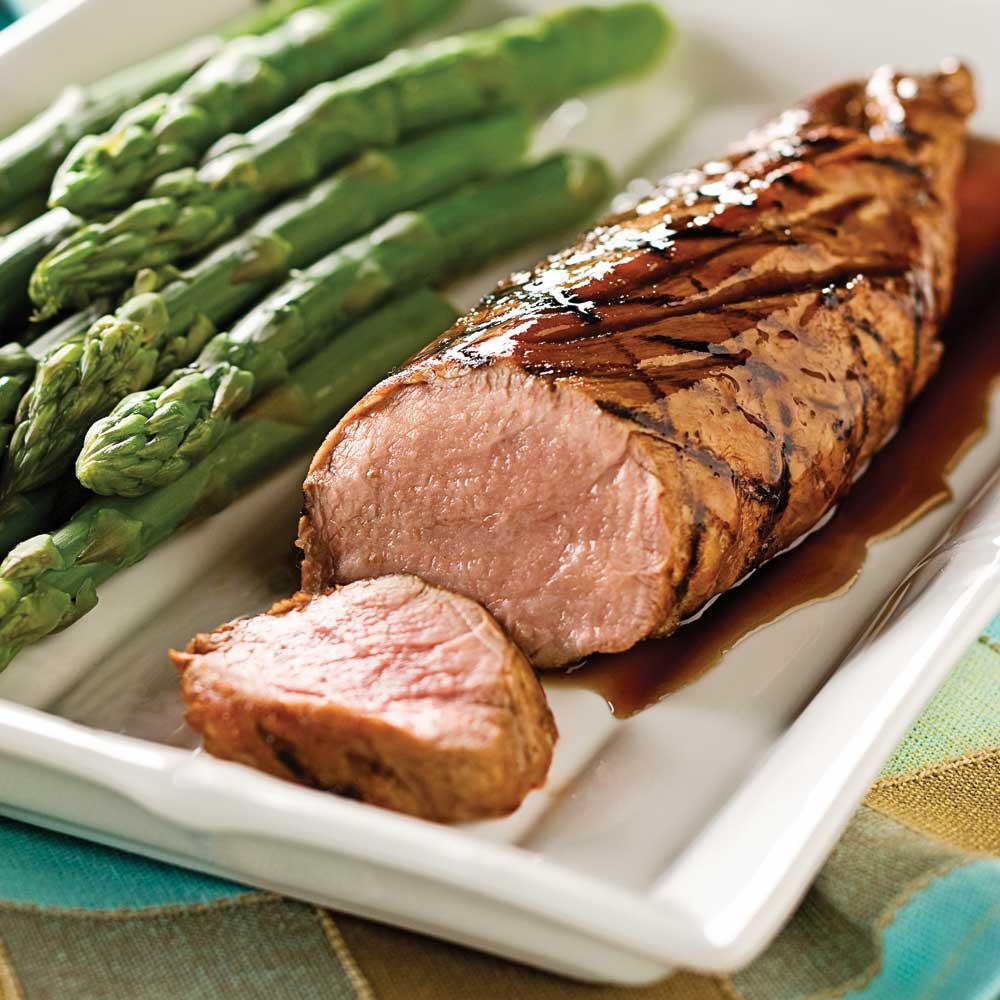 Filets de porc marin s au balsamique et rable recettes cuisine et nutrition pratico pratique - Cuisson filet de boeuf au four chaleur tournante ...