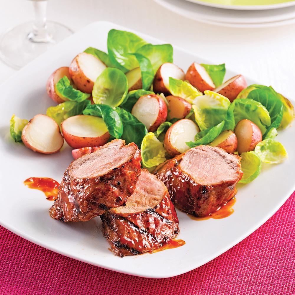 Filets mignons de porc style ribs recettes cuisine et - Cuisiner rognons de porc ...