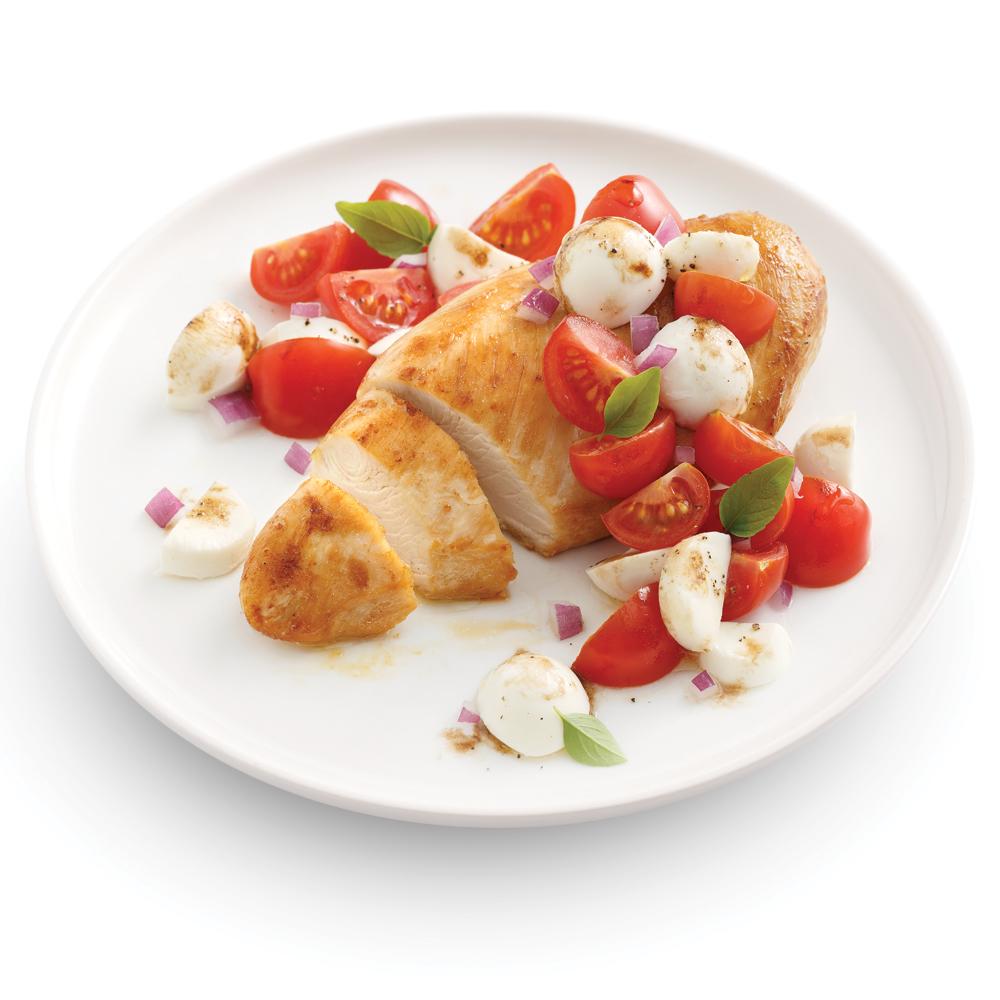 Garniture aux tomates et bocconcinis recettes cuisine for Cuisine pratique